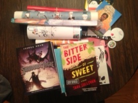 Pins, posters, and, of course, new books from ALA Midwinter Day 1