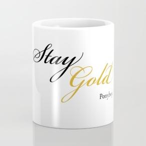 stay gold ponyboy mug