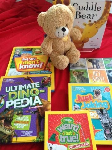Teddy book Gift
