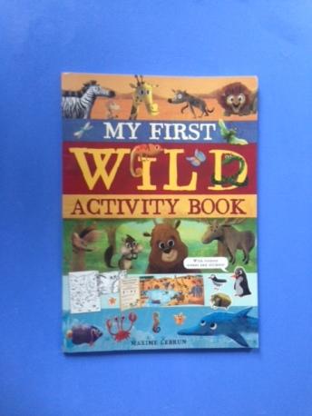 my first wild activity book