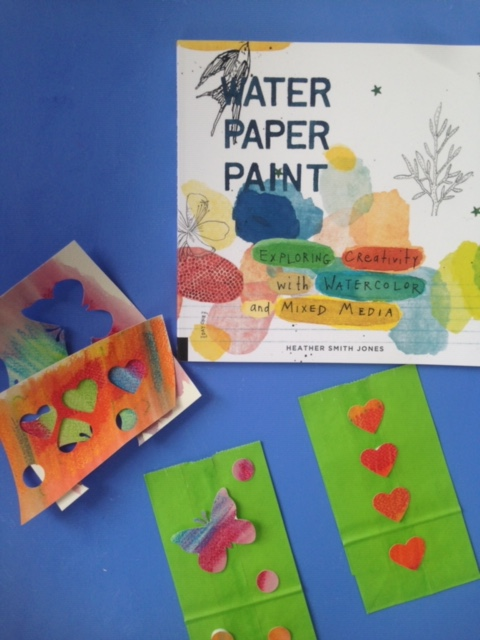 water paper paint 1